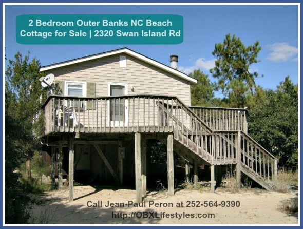 This 2 Bedroom Outer Banks Nc Beach Cottage For Sale Is The Perfect Home For Those