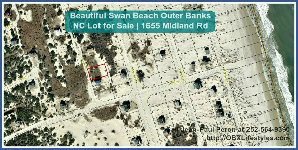 Beautiful Swan Beach Outer Banks Nc Lot For Sale 1655 Midland Rd