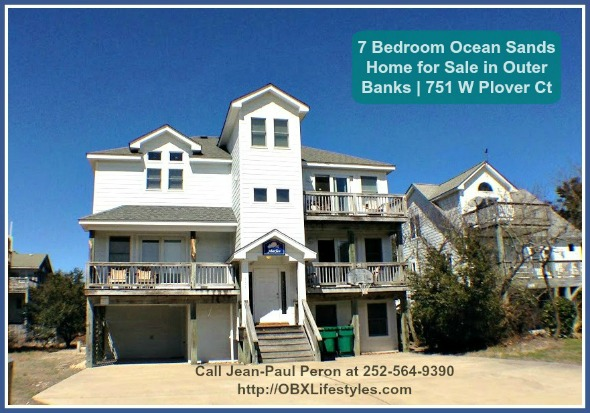 7 Bedroom Ocean Sands Outer Banks Nc Home For Sale 751 W Plover Ct