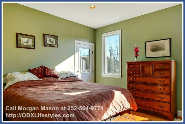 The Master Bedroom Of This 4 Equestrian Property For On Outer Banks Nc