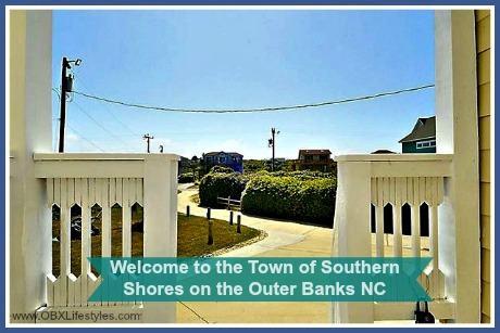 Outer Banks NC homes for sale in Southern Shores are located just south of Duck and north of Kitty Hawk.