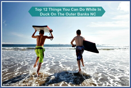 OBREC Duck Outer Banks things you can do - bodyboarding